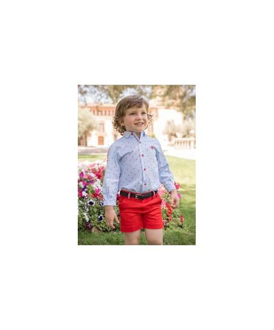 Conjunto Camisa y Pantalon Corto Red Monkey